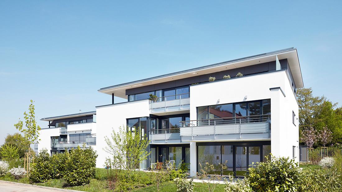 Loweg architekten freie architekten und stadtplaner for Mehrfamilienhaus modern