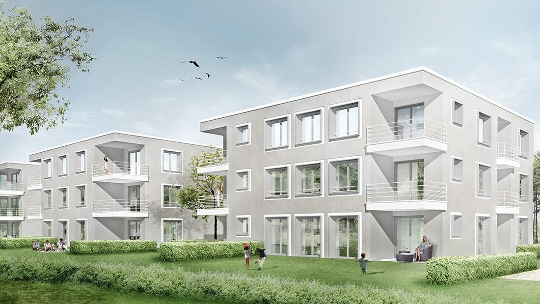 Loweg architekten mehrfamilienh user ludwigsburg - Architekten kreis ludwigsburg ...